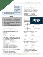Mathematics - Problem Sheet Level 1 (2 Files Merged)