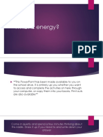 energy powerpoint