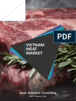 Meat Market in Vietnam
