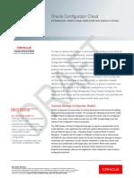 Oracle Configurator Cloud Datasheet Prerelease