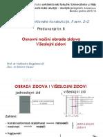 Predavanje Br.8-UAK - Оsnоvni Nаčini Оbrаdе Zidоvа Viseslojni Zidovi