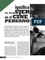 Que significa ser mujer en el cine peruano