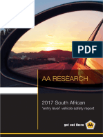 2017 Entry-Level Vehicle Safety Report