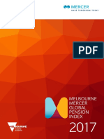 2017 Melbourne Mercer Global Pension Index Full Report