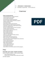 Pády _ Grammar _ Gramatika - Mluvtecesky