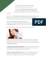 20 Ideas Para Ganar Dinero Con Poca Inversión