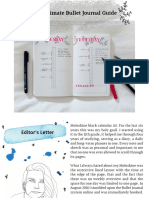 The Ultimate Bullet Journal Guide