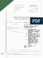 07-12-07 Samaan v Zernik (SC087400) at the Los Angeles Superior Court