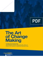 The Art of Change Making