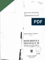 Defectos Sociales de La Constitucion de 1853 - Ficha 32