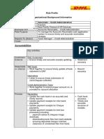 Associate – Credit Administration (Receipting) (JG 7)