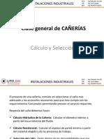 Clase General de Cañerias - Cálculo