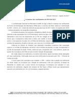 Perdas e Ganhos Dos Coeficientes Do FPM de 2017