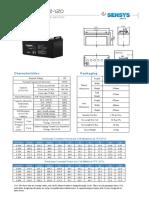 Sensys Baterias Ed 12 120
