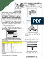 Química - Pré-Vestibular Impacto - Tabela Periódica - Classificação dos Elementos I