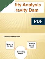 Dam Stability