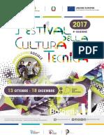 Festival Cultura Tecnica 2017 Programma Pieghevole Magazine Web