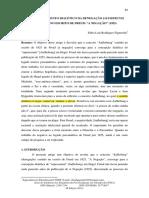 """10 Fábio Luís Rodrigues Figueredo Hegel e o Momento Dialético Da Denegação Aufhebung Revelado No Escrito de Freud """"a Negação"""" 1925"""