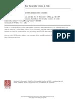 Evolución Del Mercado Financiero en Chile