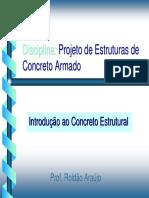 Introducao Ao Concreto Estrutural - CEULP - Roldão Araújo