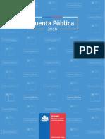 Cuenta Publica SENAME 2016