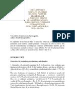Carta Encíclica Veritatis Splendor