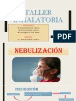 Taller Inhaloterapia