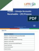 FI330 Umoja Accounts Receivable FI Process ILT PPT v23