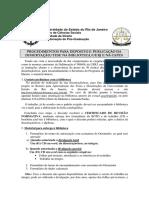 Procedimentos Para Publ