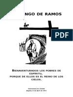 Bienaventurados los pobres de espíritu Mensaje JMJ 2014.doc