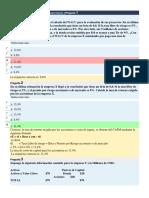 Administración Financiera II Prueba Módulo 3Pregunta