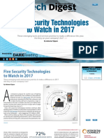 Five Security Technologies to Watch in 2017