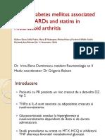 Diabetes on DMARD Articol
