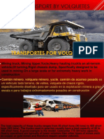 Transport by Volquetes