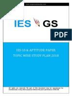 ##ESE Study Plan
