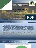 Energias Alternativas en Bolivia