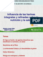 Harina en Nutricion y Salud