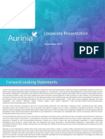 AUPH September Corporate Presentation_Sept 25_2017