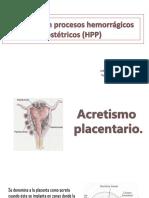Cuidados en Procesos Hemorrágicos Obstetricos