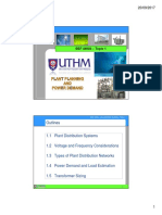 Topic 1 Plant Planning and Power Demand