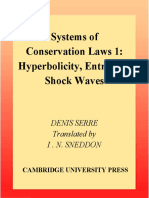 Denis Serre-Systems of Conservation Laws 1_ Hyperbolicity, Entropies, Shock Waves (1999)