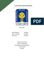 Resume Penganggaran Sektor Publik