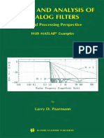Design And Analysis Of Analog Filters - A Signal Processing .pdf