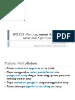 m05 - If2132 ArraySearching Sem 1 1718