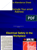 Electrical Safety in the Workplace 3Mar09