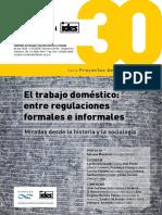 PEREYRA POBLETE 2015 Legislaci+¦n sobre trabajadoras del servicio dom+®stico y debates