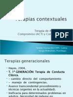 Presentación a las Terapias Contextuales
