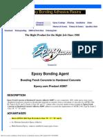 2007 Epoxy Bonds Fresh Concrete to Hardened Concrete Tds