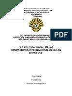 Trabajo Operaciones Internacionales Gerencia Financiera Modulo Vi
