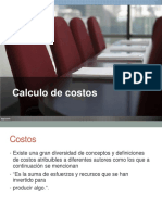 Present Acion CalCulo DecOstos